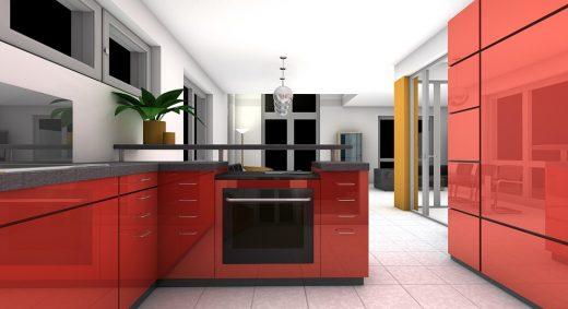 Interiér kuchyně na míru