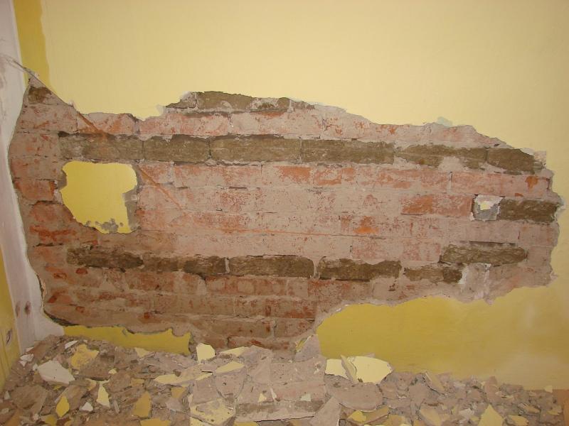 Odstranění vlhkosti staršího domu